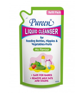 Pureen Liquid Cleanser 600ml - No Flavour