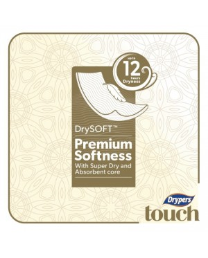Drypers Touch Mega M64 (1pack)