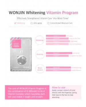 Wonjin Effect Water Bomb Mask (10 Sheets)