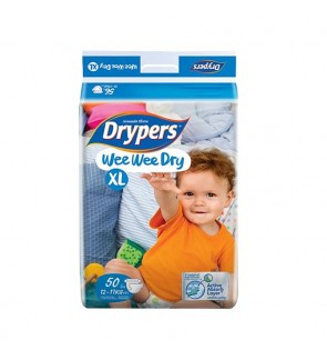 Drypers Wee Wee Dry Mega XL50 (1packs)