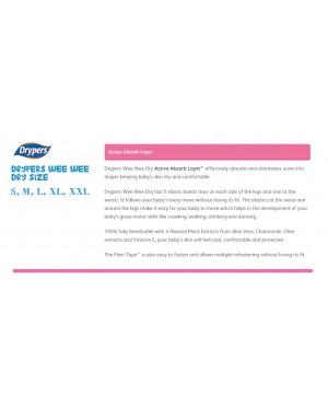 Drypers Wee Wee Dry Mega L62 (1packs)