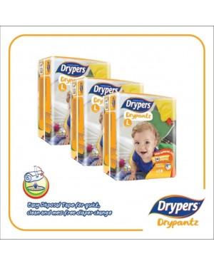 Drypers DryPantz M60/L48/XL42/XXL36 (3Packs)