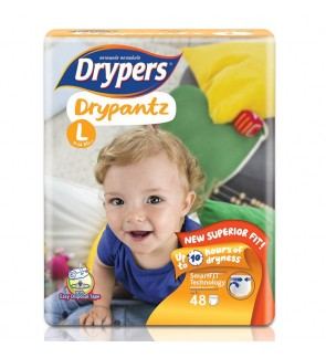 Drypers DryPantz M60/L48/XL42/XXL36 (1Packs)