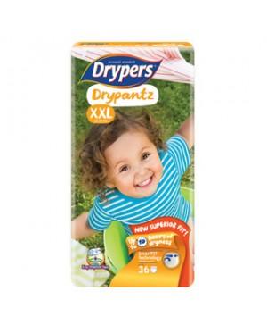 Drypers DryPantz M60/L48/XL42/XXL36 (1Packs)