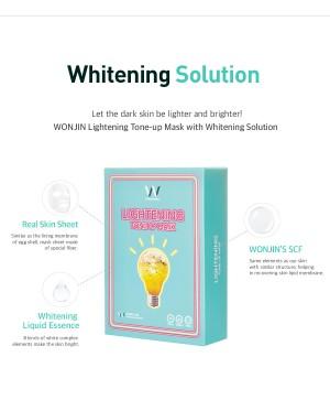 Wonjin Effect Mini Pack Lightening Tone-Up Mask (2pcs) & Water Bomb Mask (2pcs)