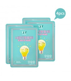 Wonjin Effect Mini Pack Lightening Tone-Up Mask (4pcs)