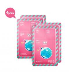 Wonjin Effect Mini Pack Water Bomb Mask (4pcs)